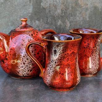 Чайний набір Крапля на 2 особи декор Дзиґа
