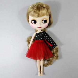 Одяг для ляльки Блайз Спідниця та кофта для ляльок Blythe