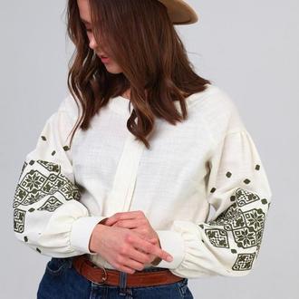Жіноча сорочка вишиванка (406)