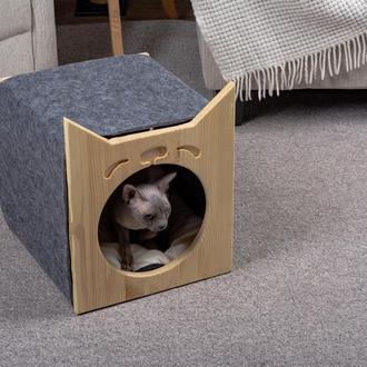 Будиночок для котів Pets Lounge Cat Shelter, 35х35 см