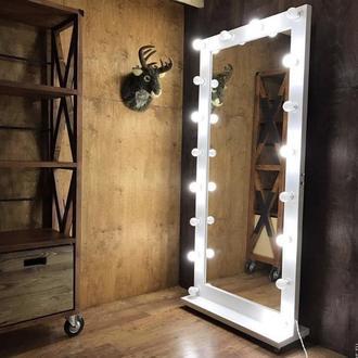 Зеркало с подсветкой, зеркало визажиста, для дома