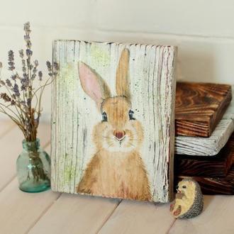 Досочка для подачи Милый Кролик, подставка для горячего