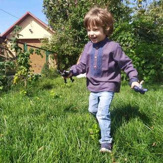 Дитяча вишиванка для хлопчика (302)