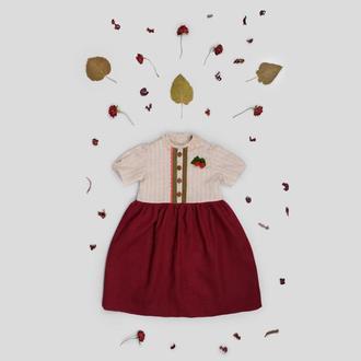 Платье Вишнёвый цвет