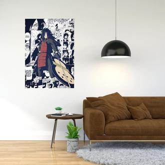 "Плакат-постер с принтом ""Naruto - Наруто (сёнэн-манга, аниме) 2"""