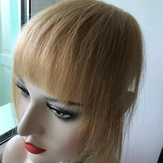 Чёлка накладная из натуральных волос