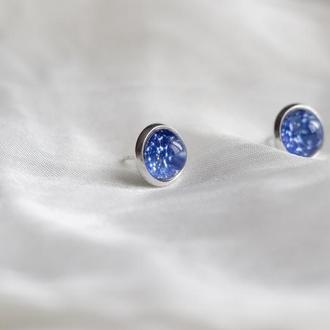 Сережки серьги сузір'я - космос - созвездия - знаки зодіаку - зодиак кульчики пусети