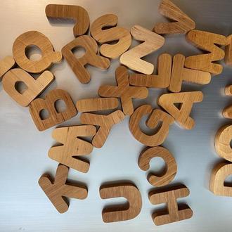 Алфавіт, Англійський алфавіт, Алфавіт на магнітах