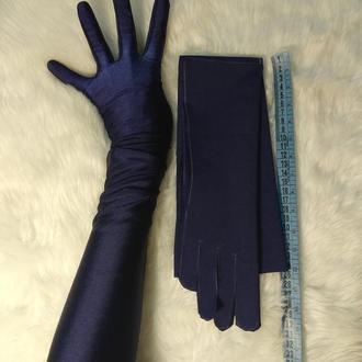 Высокие перчатки. Длинные перчатки.