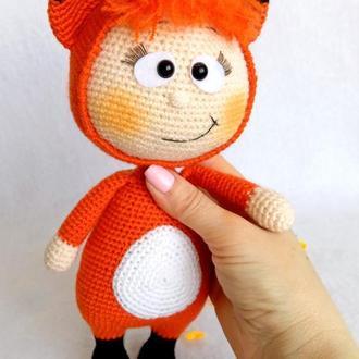 Куколка Бонни в костюме Лисички крючком