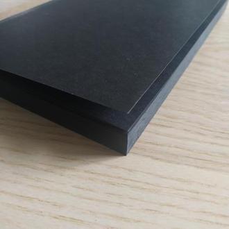 Блок с черными листами для изготовления блокнотов, скетчбуков