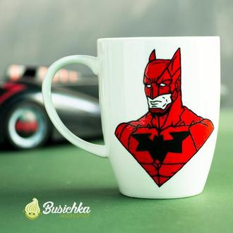 Чашка красный Бэтмен (Red Batman)