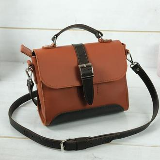 Женская сумочка Марта, кожа Grand, цвет коньяк