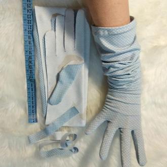 Свадебные перчатки.Длинные перчатки.