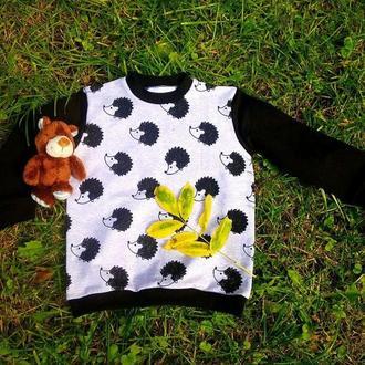 Детский свитшот OGRE с ежиками