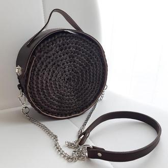 Круглая сумочка