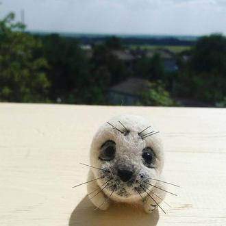 Игрушка белёк(детеныш тюленя)