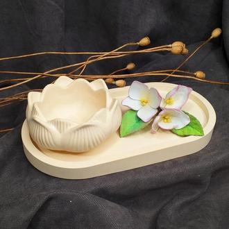 Кашпо для декора, фотосессий, заливки свечей...