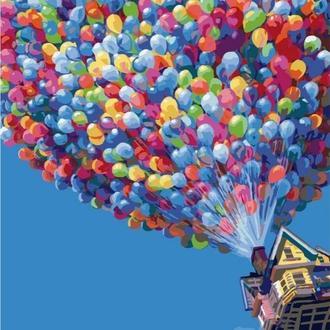 Полёт на воздушных шариках (G396)
