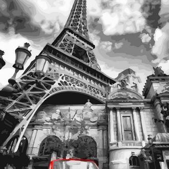 Красный цвет Парижа, 40х50 (GX32129)