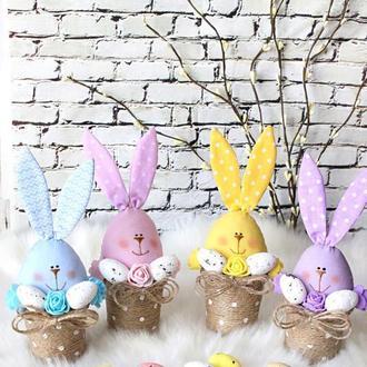 Великодні зайчики, Великодній кролик / Великодній декор / Подарунок на Великдень