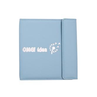 Женский планер блокнот на кольцевом механизме (Эко-кожа), 125 страниц