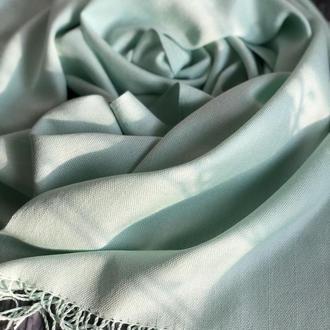 Тканый шелковый шарф