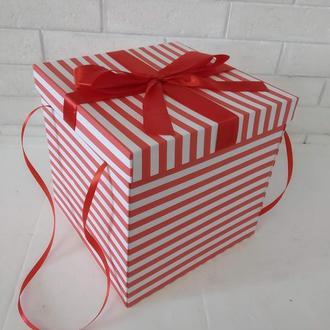 Коробка раскладушка для сладостей, подарков и фото