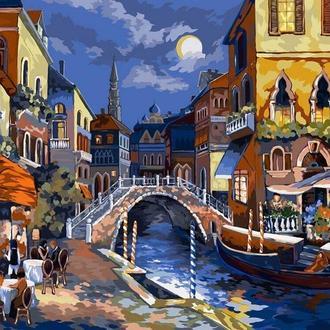 Нічна Венеція, 40х50 (KPN-01-02)
