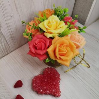 Неувядающие розы - эксклюзивный подарок