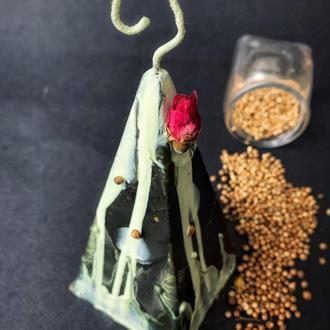 Свічка з цільного воску «Зірки вкажуть шлях»