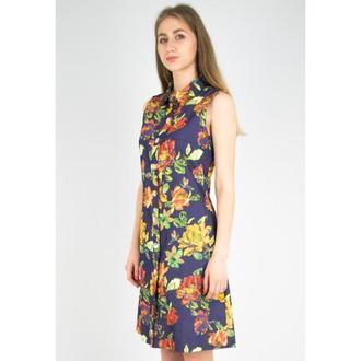 Платье джинсовое DASTI SummerStyle цветочное