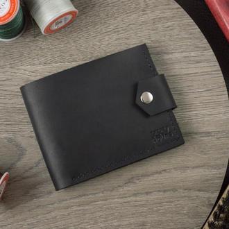 Шкіряний гаманець (Чорний) Pointer