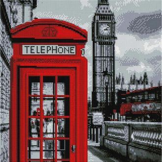 """Алмазная мозаика """"Символы Лондона"""" (арт.4793)"""