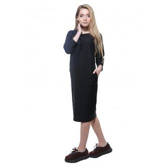 Платье с начесом DASTI SoftDress черное