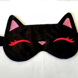 Маска для сна. Кошка.