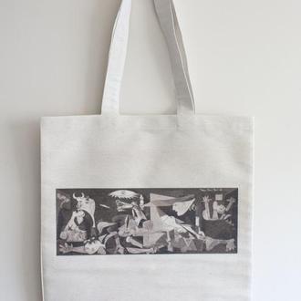 Еко сумка арт принт Пікассо Герніка