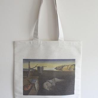 Еко сумка арт принт Сальвадор Далі
