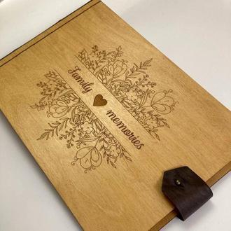 Фотоальбом с дерева - подарок. Семейный фотоальбом!