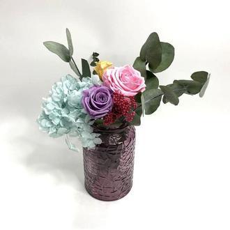 Композиция из стабилизированных цветов Etoile flora (34.03.01)