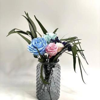Композиция из стабилизированных цветов Etoile flora (19.03.01)