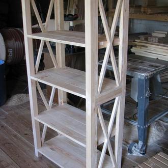 Стеллаж деревянный