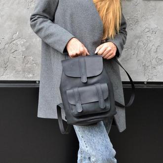 Рюкзак TEXAS из натуральной кожи рюкзак ручной работы, рюкзак из кожи Crazy Horse