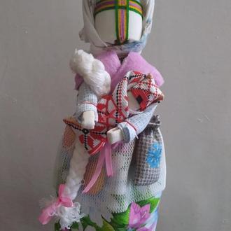Кукла мотанка Берегиня с младенцем