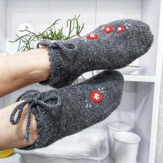 Вовняні шкарпетки, подарунок на день матері