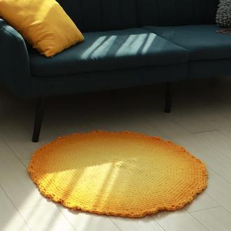 Мягкий, круглый детский коврик