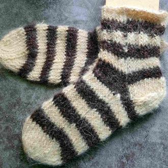Носки собачья шерсть, овечья шерсть размер 36-37