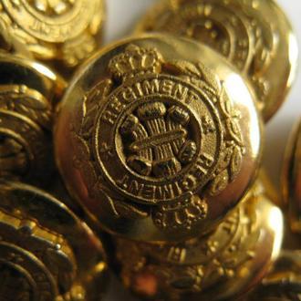 Пуговицы , Гудзик , Buttons , металические 70 шт. 15 мм.
