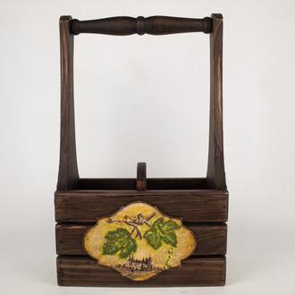 Декоративный короб для вина (для 2-х бутылок)