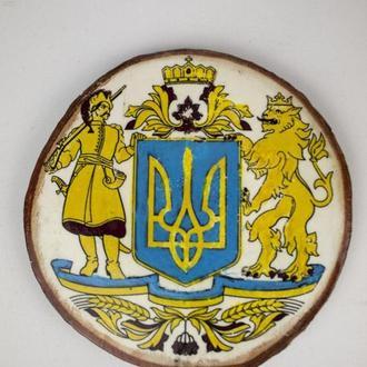 """Декоративний магнітик """"Герб"""", сувенір з українською символікою"""